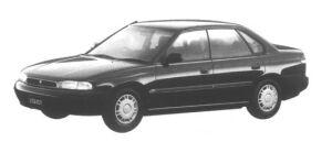 Subaru Legacy Touring Sedan LX 1995 г.