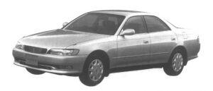 Toyota Mark II HardTop 2.5 Grande Four 1995 г.