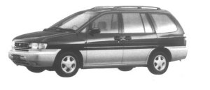 Nissan Prairie 2WD JOY L 1995 г.