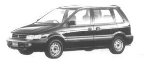 Mitsubishi RVR S 1995 г.