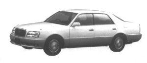 TOYOTA CROWN MAJESTA 1995 г.