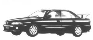 Mitsubishi Galant V6 2000 DOHC 24V TWIN T/C I/C VR-4 1995 г.