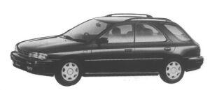 Subaru Impreza Sport Wagon 1.8L 4WD HX Edition-L 1995 г.