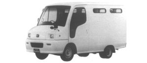 Nissan Atlas Loco 100 2WD 2 SEATERS 1995 г.