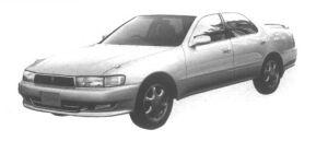 Toyota Cresta 2.5 Tourer V 1995 г.