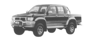 Toyota Hilux 4WD Pick Up SSR-X Wide Body 1995 г.