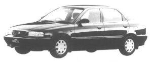 Suzuki Cultus Crescent 4 door X 1500 1995 г.