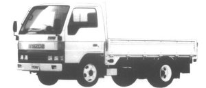 Mazda Titan 2T FULL WIDE&LOW, STANDARD CAB&BODY 3.0L 1995 г.