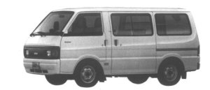 Nissan Vanette VAN 2WD LOW FLOOR STANDARD ROOF 4DOOR DX 1995 г.
