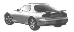 Mazda Efini RX-7 Touring X 1995 г.