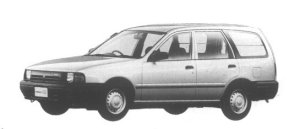 Nissan AD VAN (4DOOR) 1500VX 1995 г.