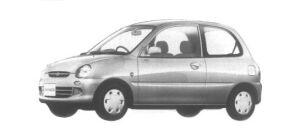 Mitsubishi Minica 3 door Pj 1995 г.