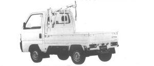 Honda Acty Truck CRANE 4WD 1995 г.