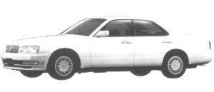 Nissan Cedric V30 Twincam Brougham 1995 г.