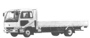 Nissan Diesel Condor ALUMINUM BODY 1995 г.