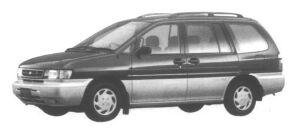 Nissan Prairie 4WD JOY (5 seaters) 1995 г.