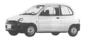 Mitsubishi Minica 1-SEATER 1995 г.