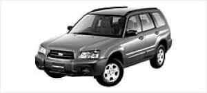 Subaru Forester X 2002 г.