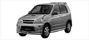 Daihatsu Terios KID AERO DOWN CUSTOM X 2WD 2002 г.