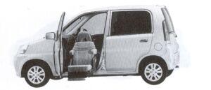 Honda Life ALMAS,Lift-upPassengerSeat vehicle Ltype 2002 г.