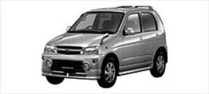 Daihatsu Terios KID CUSTOM MEMORIAL EDITION 2WD 2002 г.