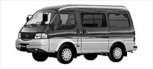 Mazda Bongo VAN LOW FLOOR 4WD HIGH ROOF, GL SUPER 2002 г.