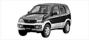 Daihatsu Terios CL Limited  2WD 2002 г.