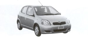 "Toyota Vitz 1.0F ""D Package"" 2002 г."