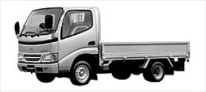 Toyota Toyoace CARGO 2WD Long Deck, JUST LOW 1.5ton G 2002 г.