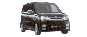 Daihatsu Move CUSTOM RS 2WD 2002 г.