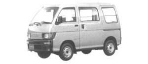 Daihatsu Hijet VAN HIGH CUSTOM 4WD 1994 г.