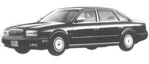 Nissan President SOVEREIGN 1994 г.