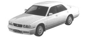 Nissan Cedric V30 TWIN CAM TURBO ALTEMA TYPE X 1994 г.