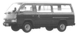 Nissan Homy VAN 4WD 5 DOOR 3/6 SEATER 2700 DIESEL DX 1994 г.