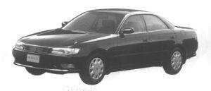 Toyota Mark II HARD TOP 2.5 FOUR 1994 г.