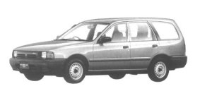 Mazda Familia VAN 1700 DIESEL XL 1994 г.
