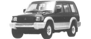 Mitsubishi Pajero MILD ROOF WIDE XR-I 1994 г.