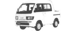 Daihatsu Hijet DECK VAN GX 4WD 1994 г.