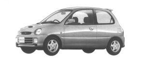 Mitsubishi Minica 3 DOORS SR-Z (A/T) 1994 г.