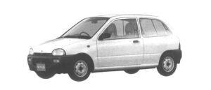 Subaru Vivio 3DOOR VAN 2-SEATER 1994 г.
