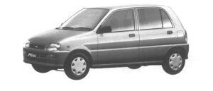 Daihatsu Mira CL 4WD 1994 г.