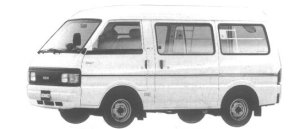 Mazda Bongo VAN WIDE LOW HIGH ROOF 2200 DIESEL LG 1994 г.