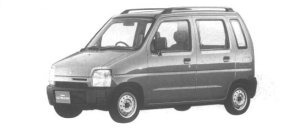 Mazda AZ-Wagon ZG-4 1994 г.