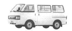 Nissan Vanette VAN 2WD 3/6 SEATER 4 DOOR DX 1994 г.