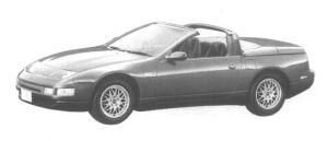 Nissan Fairlady Z CONVERTIBLE 300ZX 1994 г.