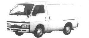 Isuzu Fargo PANEL VAN LD 2WD 1994 г.