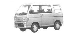 Daihatsu Atrai MX 4WD 1994 г.