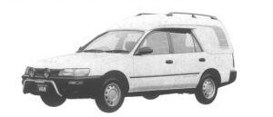 Toyota Sprinter VAN HIGH ROOF 4WD 2000 DIESEL XL 1994 г.