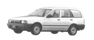 Subaru Leone VAN 1.7L 4WD DIESEL 1994 г.