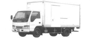 Isuzu Elf 2T DRY VAN (FLAT ALUMINUM) 1994 г.